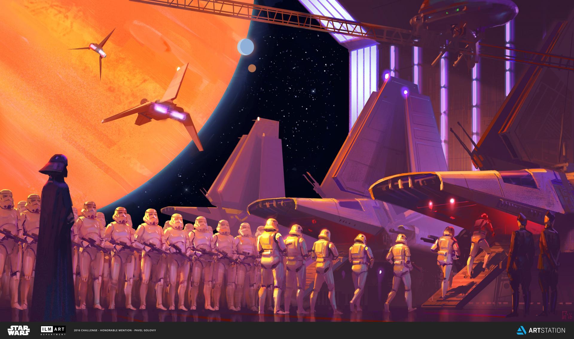 Star Wars Art Challenge